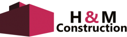 H & M Construction Logo